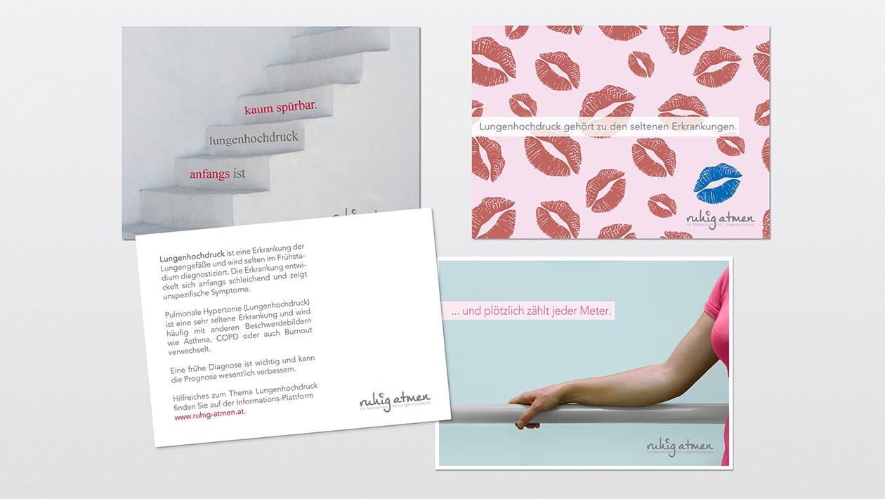 Postkarten Ruhig Atmen
