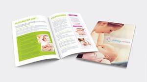 patient brochure richtig stillen